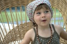 Free Portrait Of A Little Girl Stock Photography - 8997772