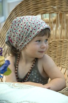 Free Portrait Of A Little Girl Stock Photo - 8997780