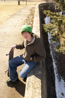 Free Skateboarder Stock Image - 8997971