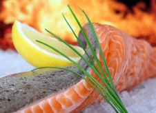 Free Smoked Salmon, Dish, Garnish, Cuisine Stock Images - 89902854
