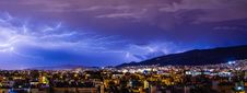 Free Lightning, Sky, Thunder, City Stock Photography - 89904082