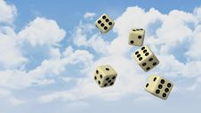 Free Sky, Dice, Dice Game, Games Royalty Free Stock Photos - 89904138