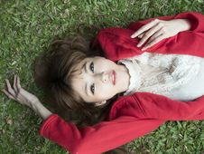 Free Beauty, Grass, Girl, Black Hair Royalty Free Stock Photography - 89904617