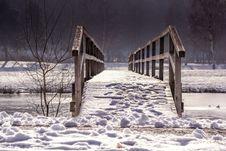 Free Winter, Snow, Bridge, Freezing Stock Images - 89904944