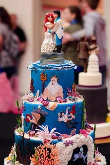 Free Cake, Cake Decorating, Sugar Cake, Birthday Cake Stock Photos - 89914573