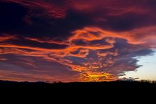 Free Sky, Afterglow, Red Sky At Morning, Cloud Stock Image - 89914871