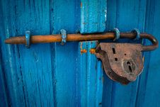 Free Blue, Rust, Wood, Metal Stock Images - 89916044