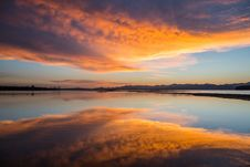 Free Reflection, Sky, Horizon, Afterglow Royalty Free Stock Photography - 89916987