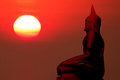Free Silhouette Of Buddha Royalty Free Stock Photos - 89964188