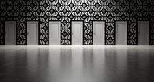 Free Wall Of Doors Stock Images - 89963014