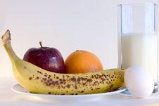 Breakfast Menu Stock Image