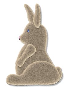 Free Fuzzy Bunny Stock Photography - 95782