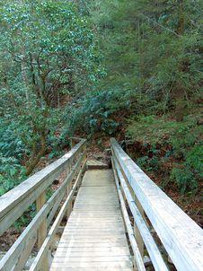 Free Bridge Into The Mountains Stock Photos - 95793