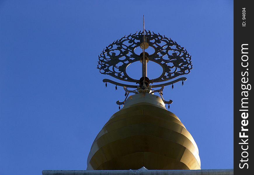 Spire of Leverett Peace Pagoda