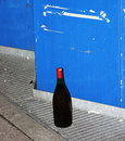 Free Bottle Next To Bin Stock Image - 905491