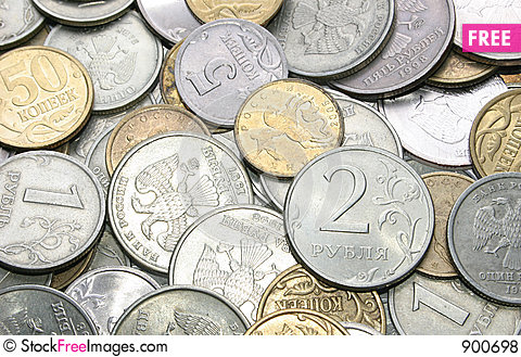 Free Coins Royalty Free Stock Photos - 900698