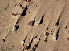 Free Sand And Stones. Royalty Free Stock Photos - 900118