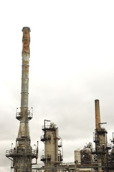 Free Detail Of Oil Refinery Stock Image - 900911