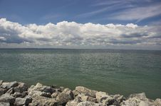 Free Rocky Lake Shore Stock Photo - 900930