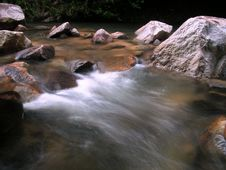 Free River Rapids In Malaysia Royalty Free Stock Image - 901116