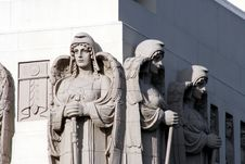 Free Stone Angels 2 Stock Images - 901274