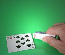Free Poker Hand With Aces And Eights Stock Photo - 902760