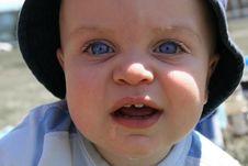 Free Little Boy Closeup 3 Stock Images - 903734