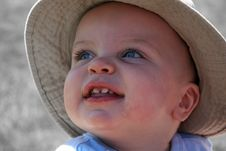 Free Little Boy Closeup 2 Stock Image - 903741