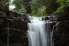 Free Waterfall White Stock Photography - 905062