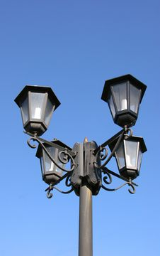 Free Street Lights In Moscow Stock Photo - 905970