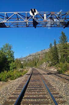 Free Mountain Railroad Royalty Free Stock Photos - 906248