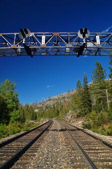 Free Mountain Railroad Stock Photography - 906392
