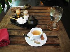 Free An Espresso For You And Your Audience! Stock Image - 907211
