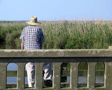 Free Man Fishing Stock Photo - 907520
