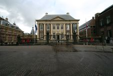 Mauritshuis On An Overcast Day Stock Photos