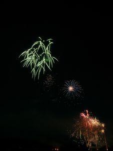 Free Pyrotechnics Royalty Free Stock Photo - 908305
