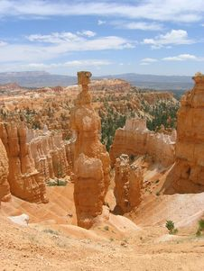Free Bryce Canyon Path And Hoodoos Stock Photo - 908820