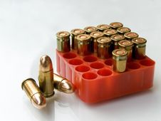 7.65mm Bullets Stock Photos