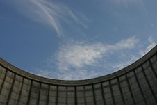 Free Looking Upward In Cooling Tower Royalty Free Stock Photography - 909267