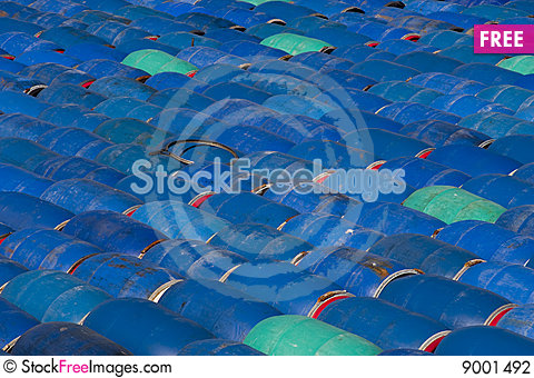Herring barrels, sweden Stock Photo