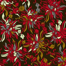Free Vector Flower Background Stock Photography - 9000752