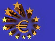 The EU Flag Stock Image