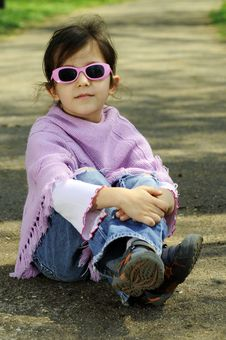 Free Little Fashion Girl Stock Images - 9001364