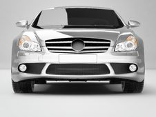 Free Silvery Business-Class Car Royalty Free Stock Photo - 9001395
