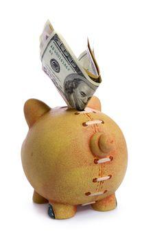 Free Piggy Bank - Financial Crisis Stock Images - 9002014