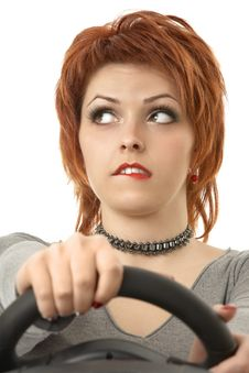 Free The Thoughtful Driver Royalty Free Stock Photos - 9002268