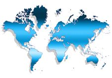 Free Map Of The World Stock Photos - 9004213
