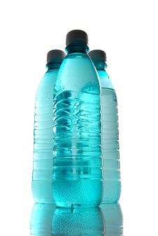 Free Bottle Of Mineral Water Royalty Free Stock Photo - 9004465