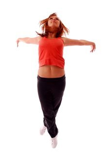 Free Attractive Teenage Dancing Stock Images - 9004494