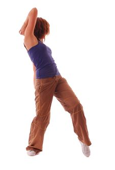 Free Attractive Teenage Dancing Stock Images - 9004514